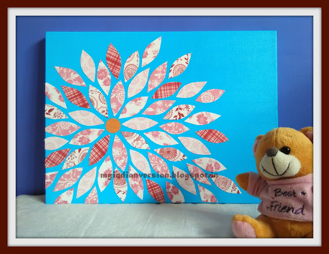 DIY Canvas and Paper Art