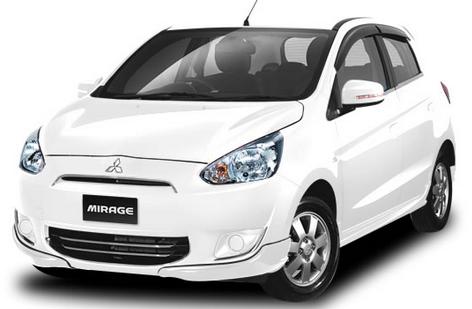 Spesifikasi Mitsubishi Mirage GLS