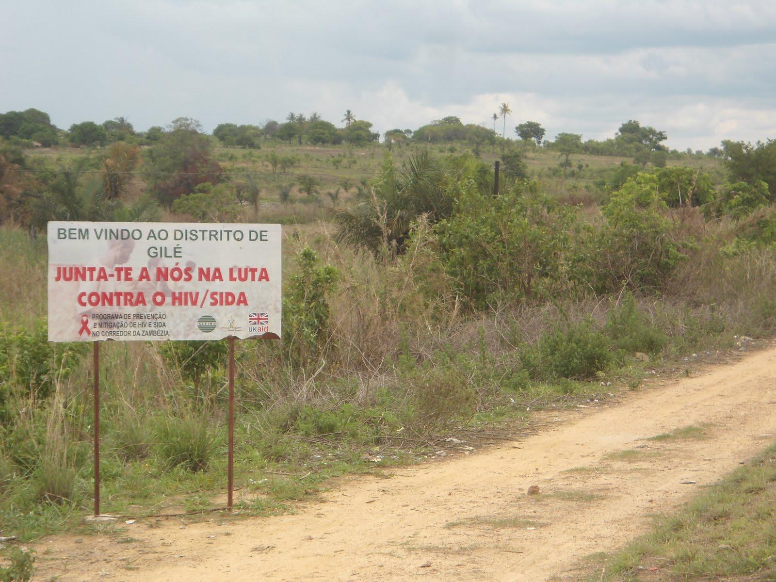 Zona endemica.
