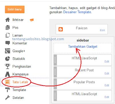 menambahkan widget kalender pada blog