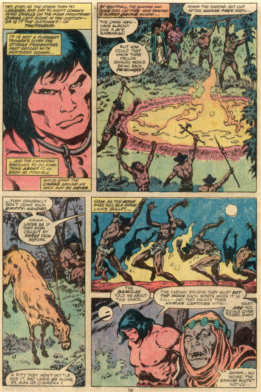 Conan the Barbarian (1970) Issue #108 #120 - English 13