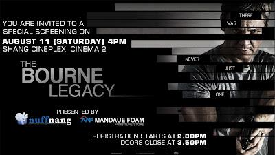 The Bourne Legacy Screening