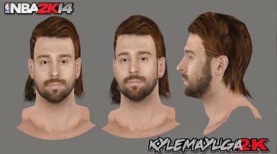 2K Josh McRoberts Realistic Face Mod