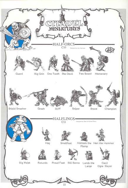 Half Orcs del Third Citadel Compendium