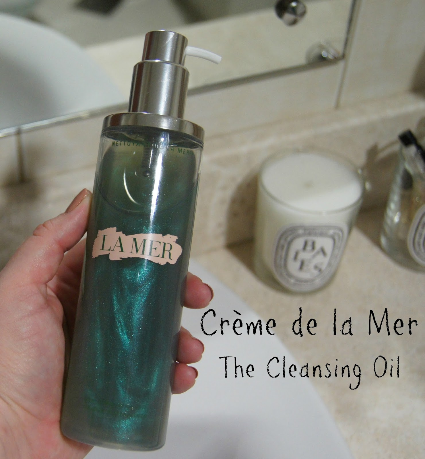 Creme de la mer the cleansing oil review