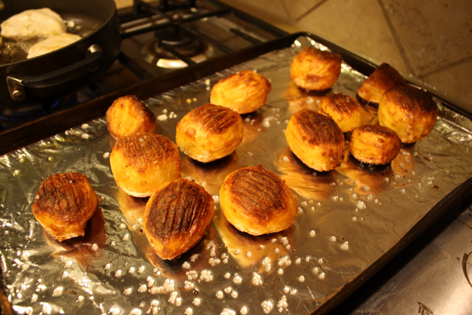 Lactose-Free Girl: Forked Oven-Roasted Potatoes