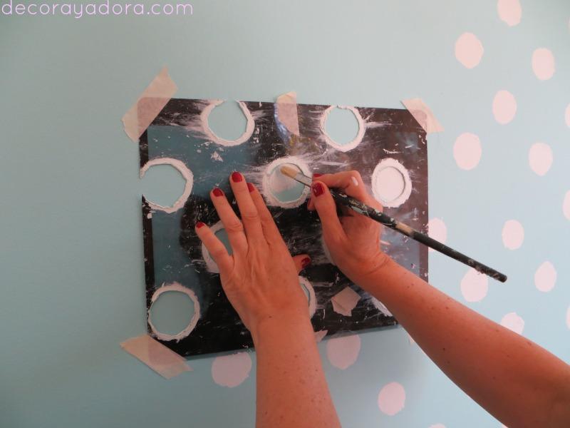 decora y adora: DIY pintando lunares
