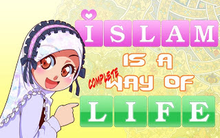Gambar-gambar kartun lucu islami Unik dan Indah