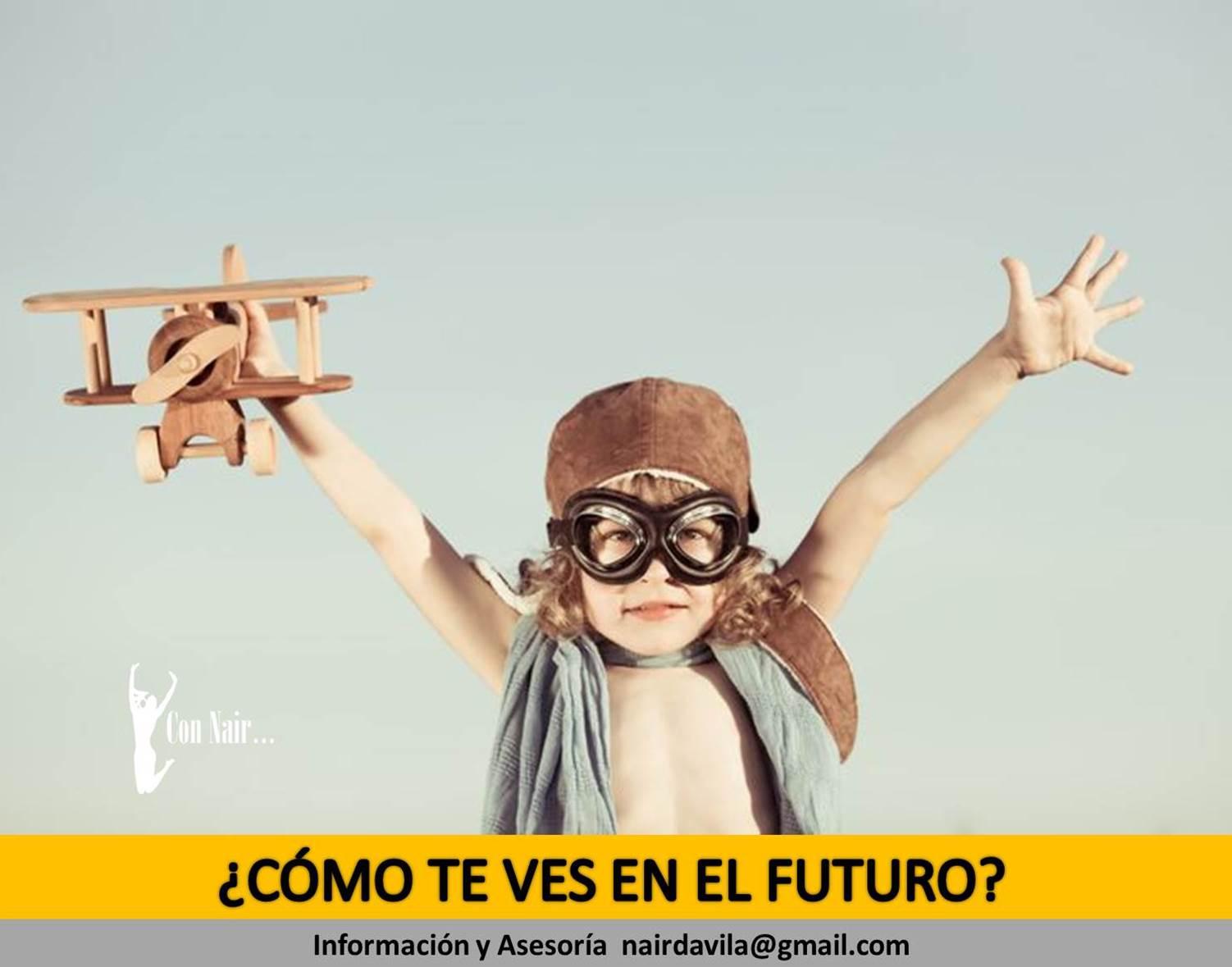 ¿CÓMO TE VES EN EL FUTURO?