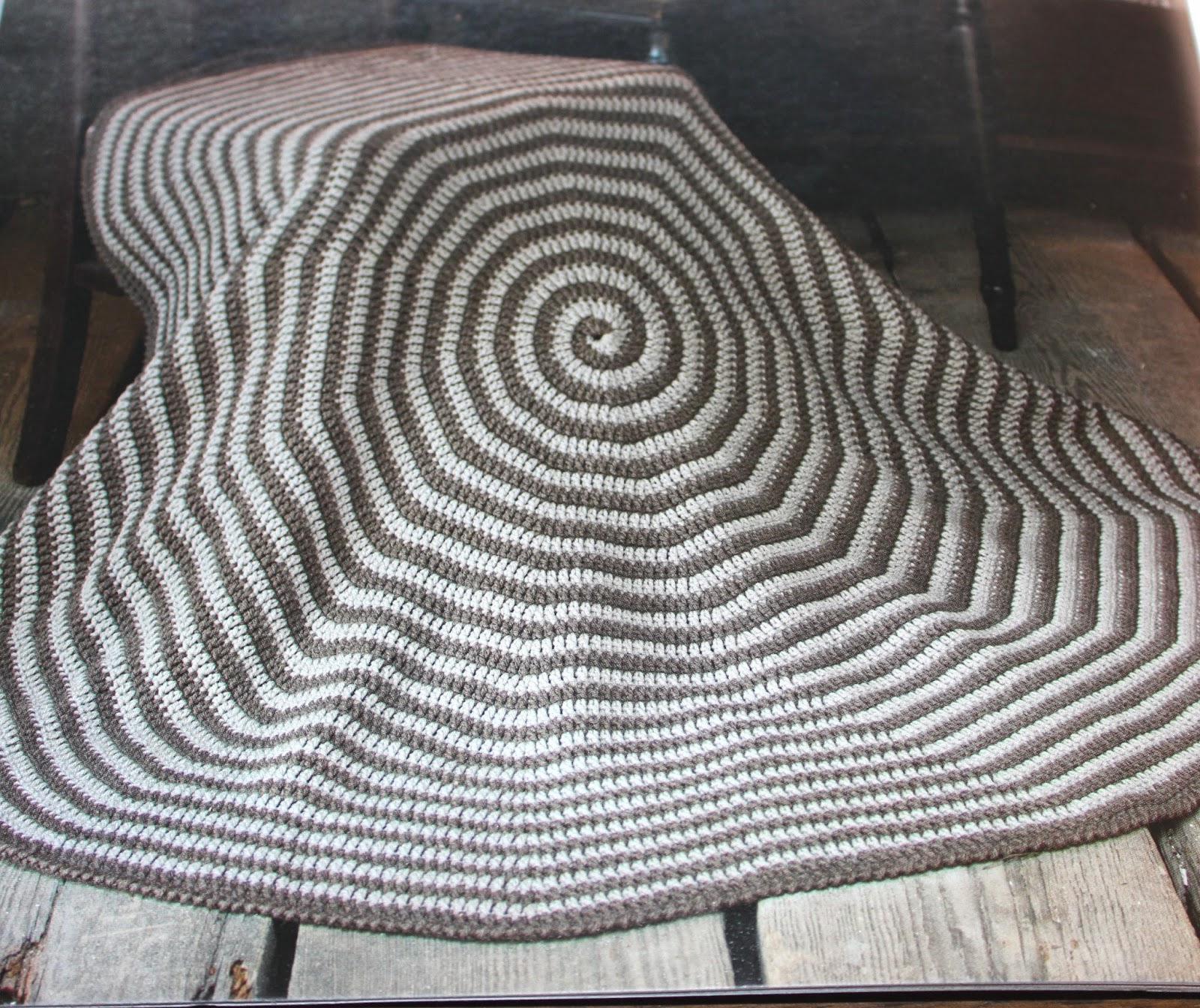 Spiral Crochet Pattern Custom Design