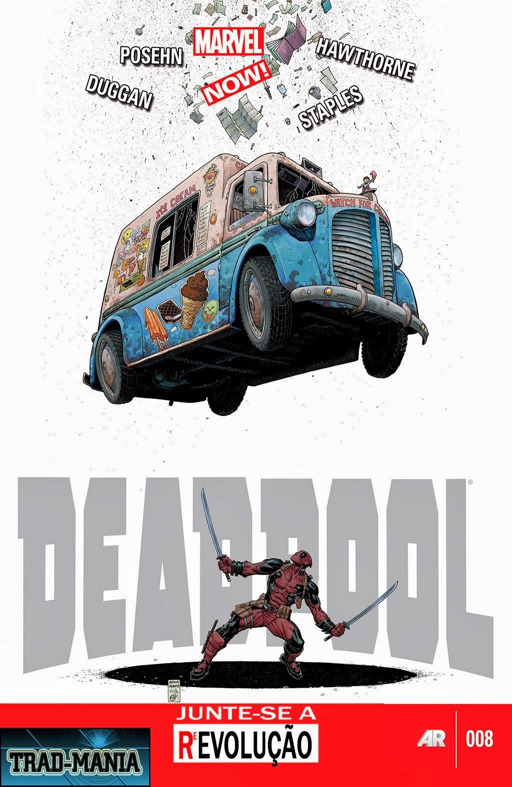 Nova Marvel! Deadpool v5 #8