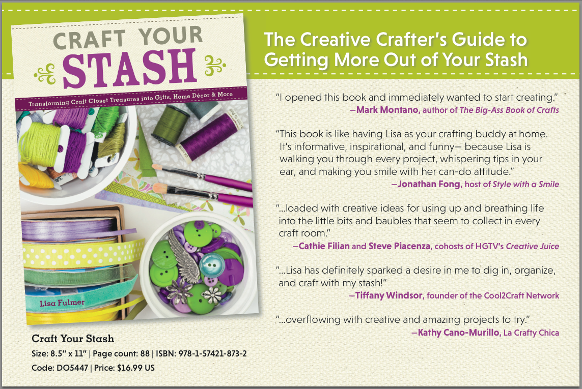 Craft Your Stash book Lisa Fulmer