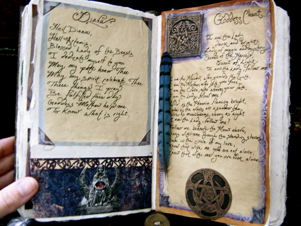 Altered Art: Book Of Shadows Pictures