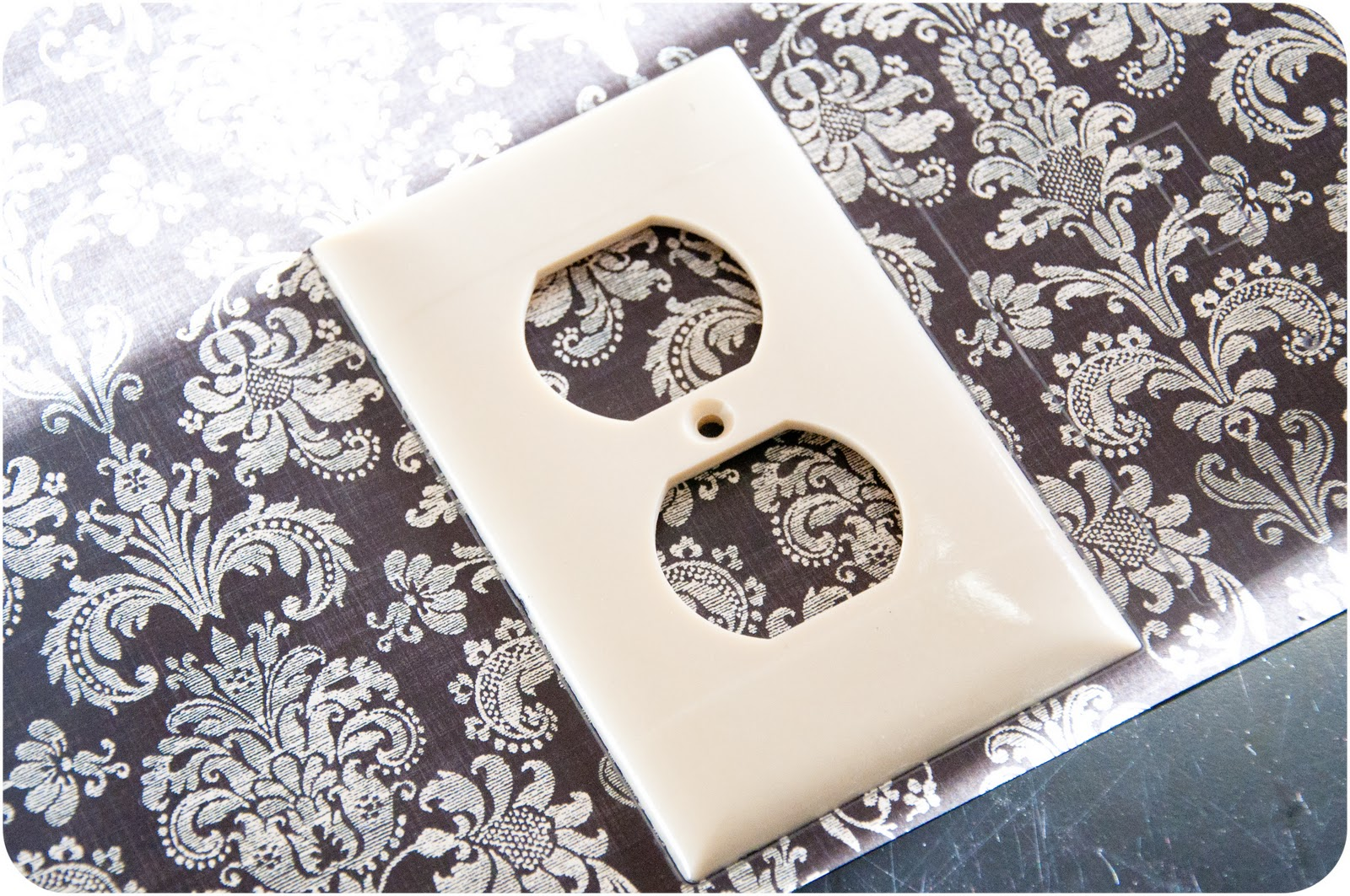 Arts and crafts switch plate covers - Covered Light Switch Outlet Plates