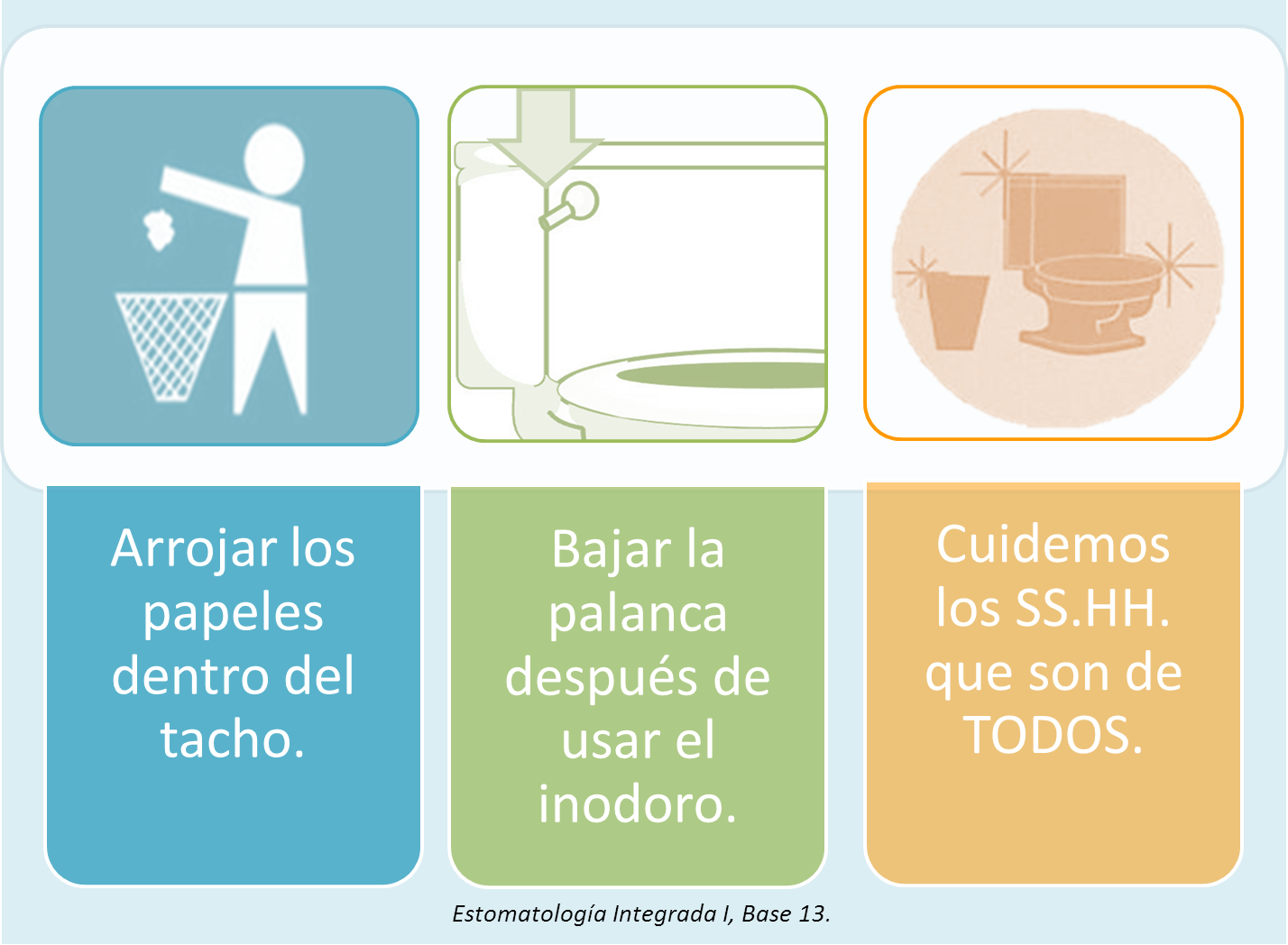 Imagen De Baño Limpio:Publicado por Estomatologia Integrada I UNMSM en 16:18 1 comentario: