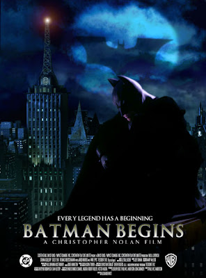 Watch Batman Begins 2005 BRRip Hollywood Movie Online | Batman Begins 2005 Hollywood Movie Poster