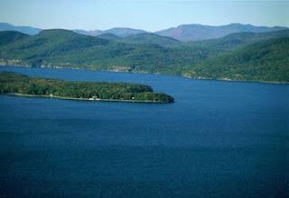 Danau Champlain tempat monster Champ