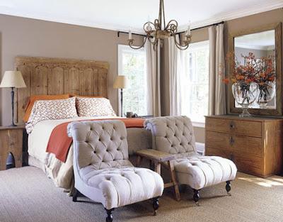 pie de cama con sofás