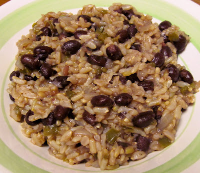 moros y cristianos Cuban black beans & rice