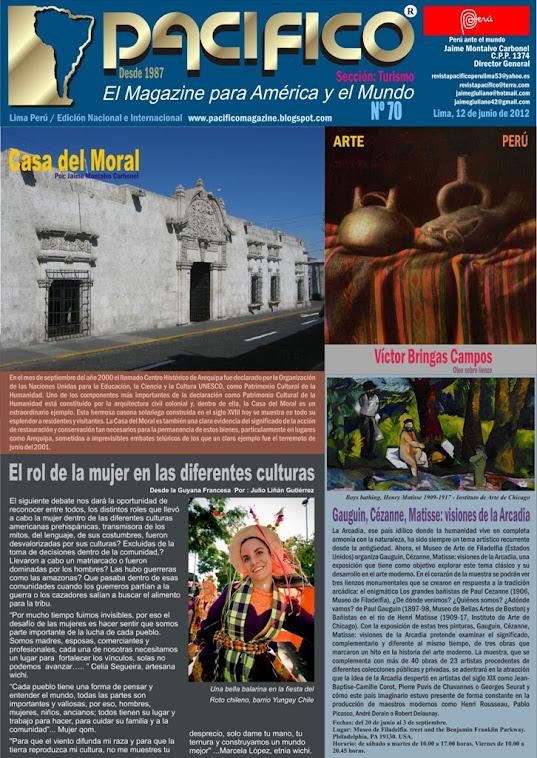Revista Pacífico Nº 70 Turismo