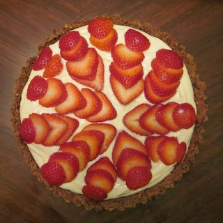 Strawberry Greek Yogurt Pie Recipe