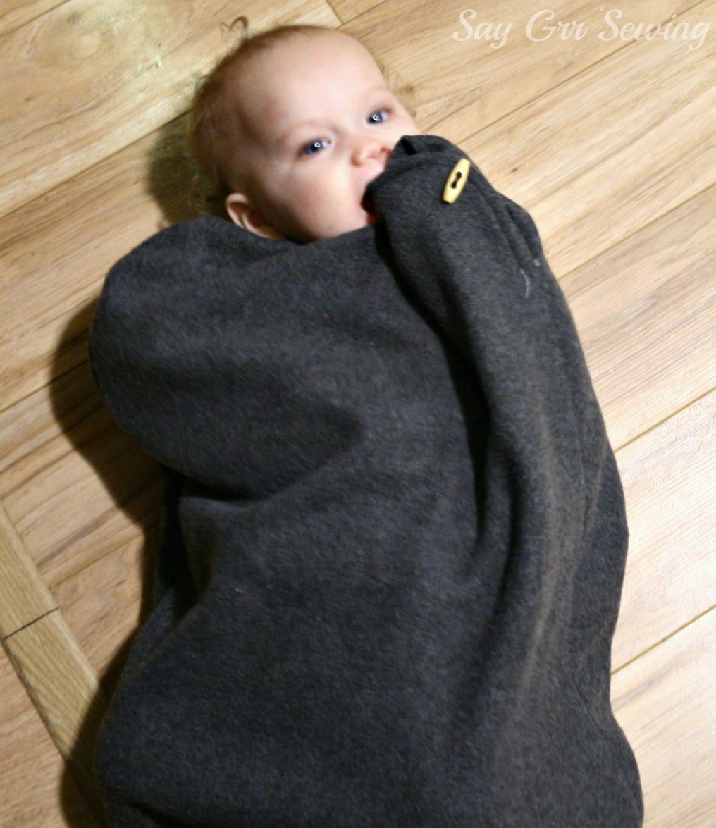 Say Grr Sewing: Baby Sleep Sack