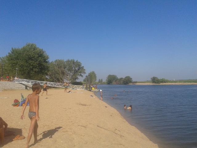 Praia Fluvial em Coruche