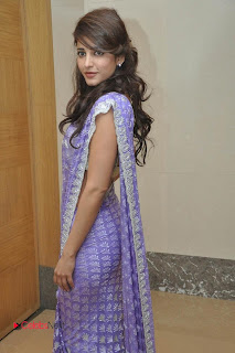 Shruti Haasan Picture Gallery in Saree at Balupu Movie Logo Launch ~ Celebs Next