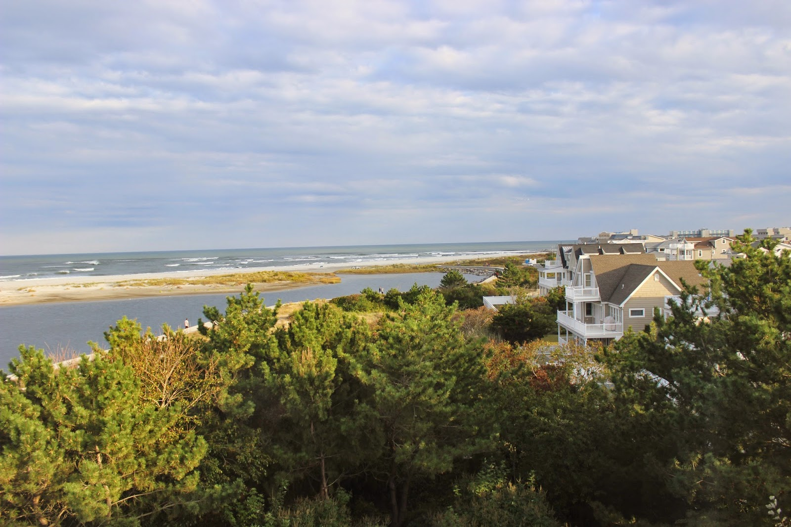 New Jersey Lighthouse Challenge 2014 - view from Hereford Lighthouse