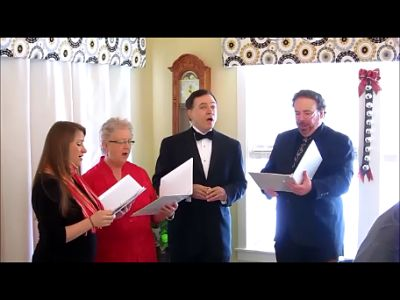 The Billings Symphony Orchestra Chorale singing at The Crossing B&B