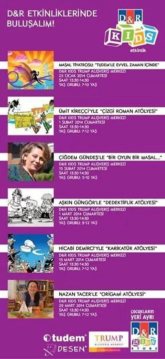 """TUDEM Yayınları """"Çizgi Roman Atölyesi"""""""