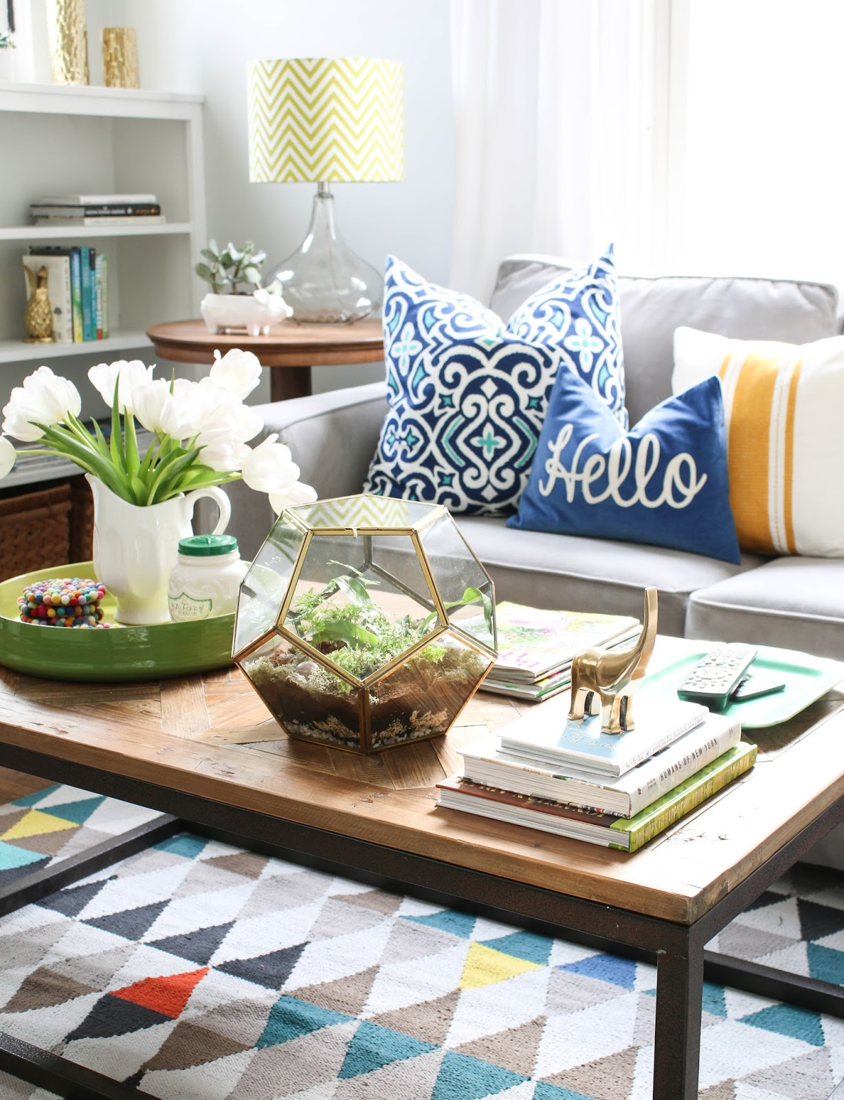 A Little Colorful Chaos Design Post Styling your Coffee Table