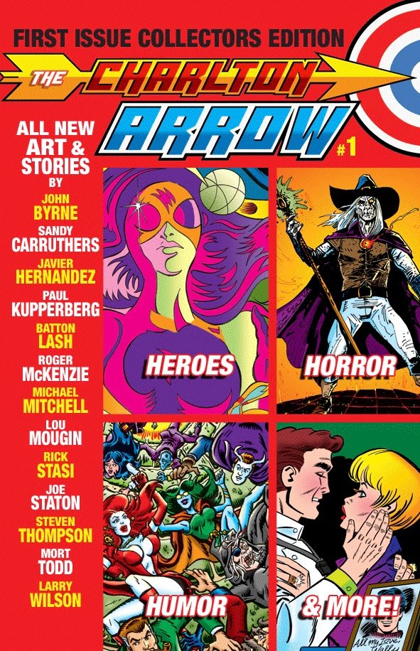 All New Charlton Comics! Click To Order!