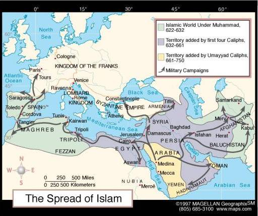 Divisions of the world in Islam