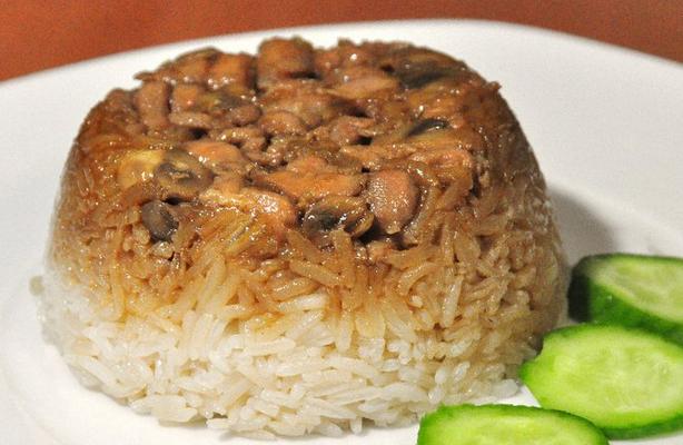 Nasi Daging Jamur
