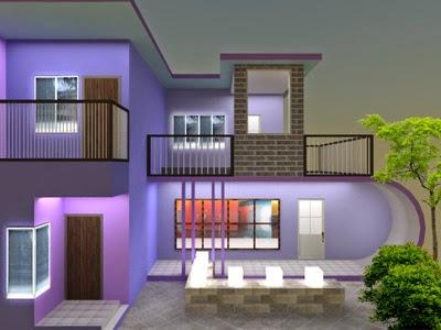 rumah minimalis unik