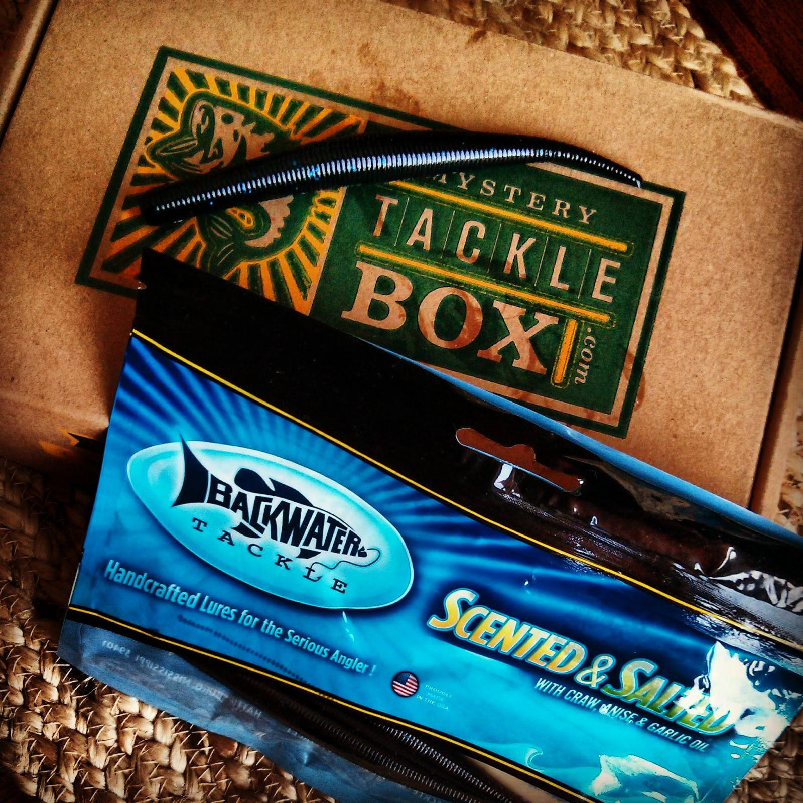 Mystery Tackle Box Unboxing April 2013 Bass Utopia
