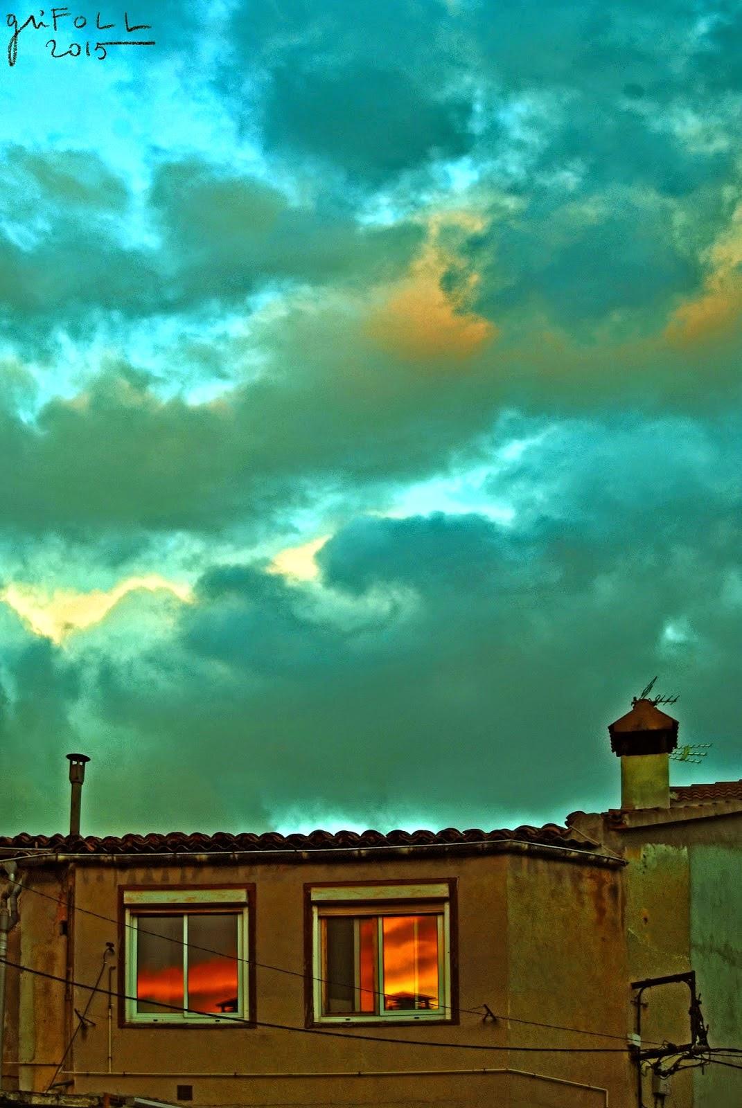 Quatre imatges de GriFOLL interpretades amb poemes d'Helena Bonals