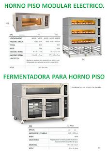 hornos pisos modular electrico, fermentadora para horno pisos.