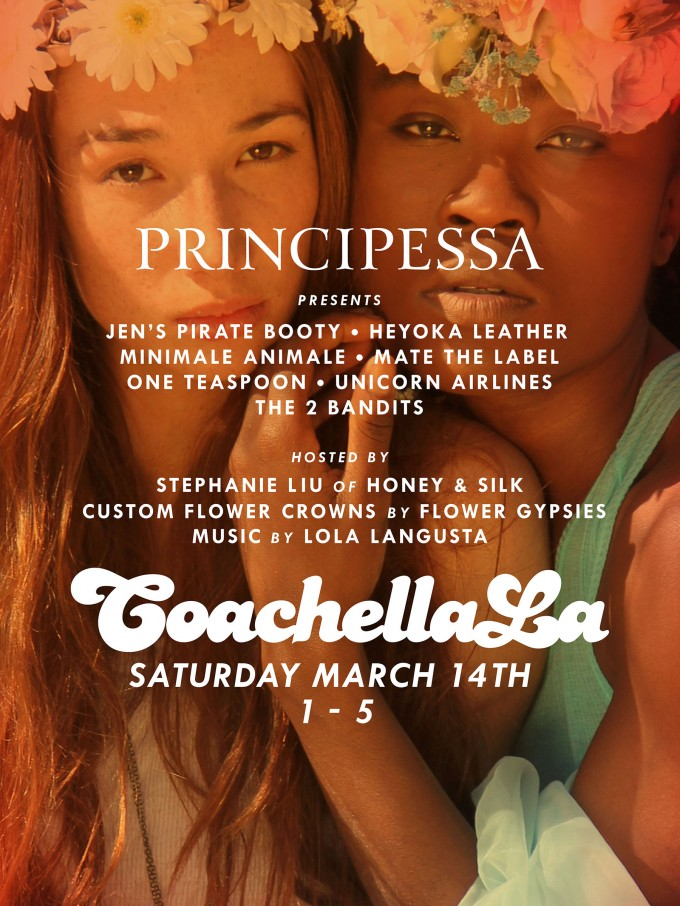 Principessa x Coachella x Honey & Silk