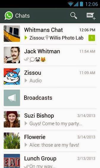 تحميل تطبيق الرسائل والمكالمات المجانيه واتس اب WhatsApp للاندرويد