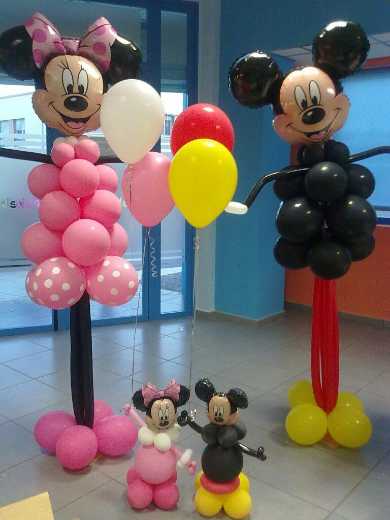 decoraciones d u0026 39 globos   mickey y minnie d u0026 39 globos