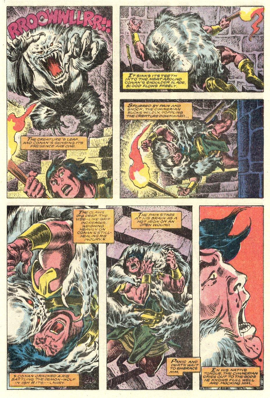 Conan the Barbarian (1970) Issue #181 #193 - English 16