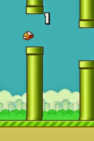 Download Apk Flappy Bird awal game for Android and iOS