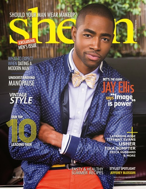 "MAGAZINE SNAPPER: BET ""The Game"" Actor JAY ELLIS COVER SHEEN MAG  + TIA MOWRY {MELANIE} & POOCH HALL {DERWIN} RETURNING TO SHOW ""The Game"