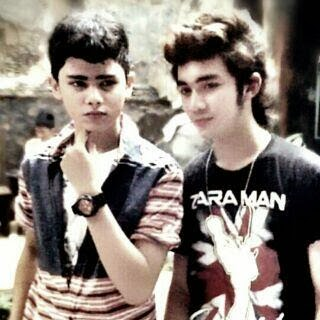 Aliando with Marthin