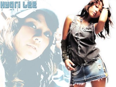 Hyori Lee Lovely Wallpaper