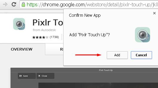 aplikasi foto editor google chrome