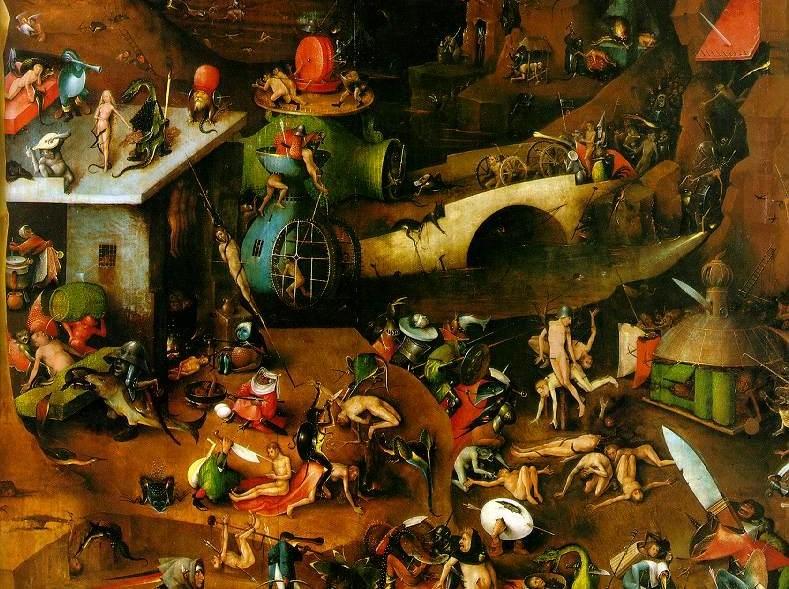 Cutting Edge Conformity: Demon Design 101: Hieronymus Bosch!