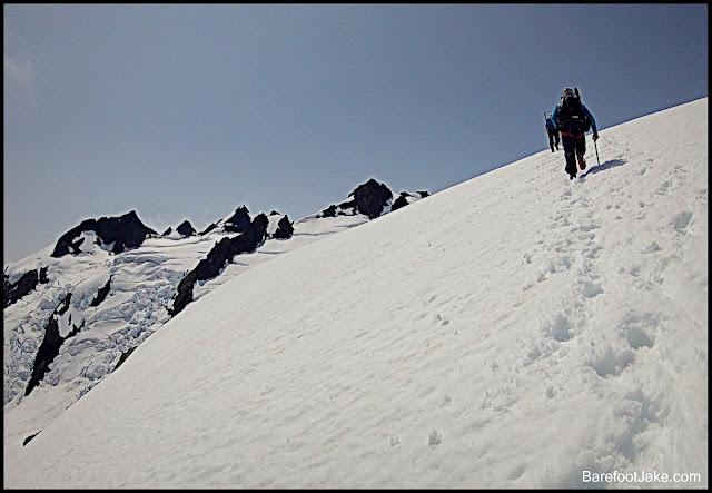 climbing snow dome